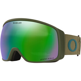 Oakley Flight Tracker XL Lunettes de ski Homme, prizm icon dark brush/prizm snow jade